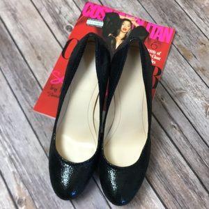 Calvin Klein Black Kendall Platform Women Size 8.5